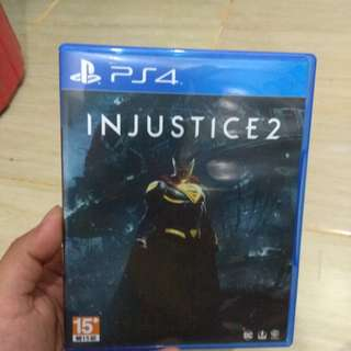 Kaset PS 4 Injustice 2