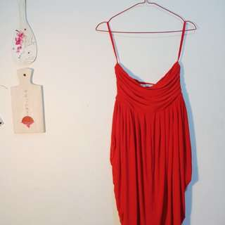 Red Beach Dress Body and Soul