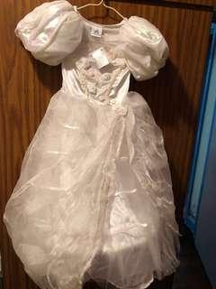 絕版 迪士尼公主裙 婚紗 花女