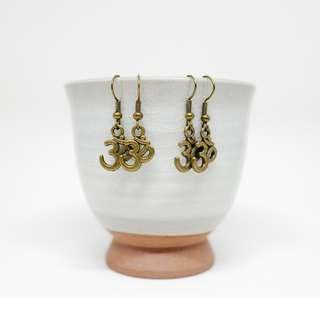 Assorted handmade earrings