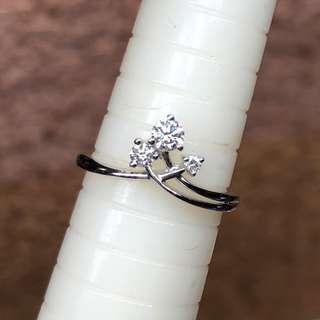 18k diamond ring 鑽石戒指