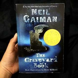 The Graveyard Book by Neil Gaiman Imported Novel Book