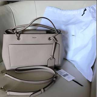 PRICE DROP from 300 BRAND NEW DKNY Medium Nude Beige Satchel