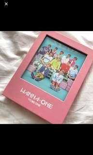Wanna one pink ver album