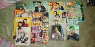 Alden Richards Magazine and CD collection