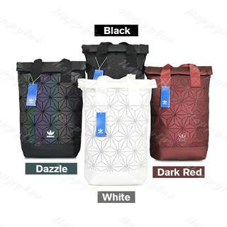Orginal adidas x issey miyaki 3d urban mesh roll up bag