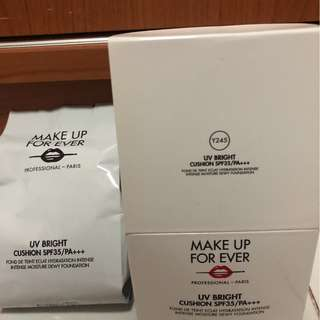 Make Up Forever UV Bright cushion Y245 refill New