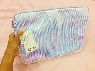 Tas Laptop Hologram H&M (New! With tags)
