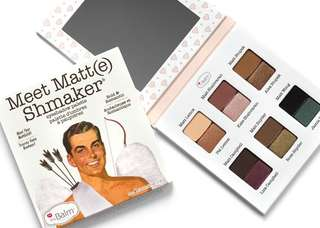 The Balm Meet Matt(e) Shmaker Eyeshadow Palette