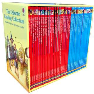 The usborne reading collections - 40 books