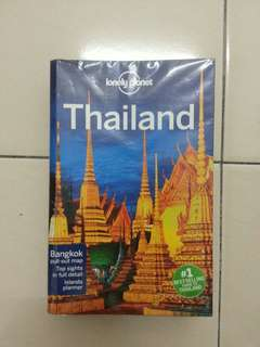 Lonely Planet Thailand 15th Edition 2014 + Free Pocket Bangkok