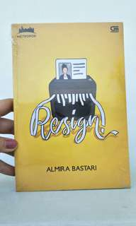 #bonusmaret Novel resign
