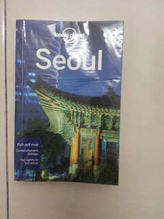 Lonely Planet Seoul 7th Edition 2012 + Free TMoney Card