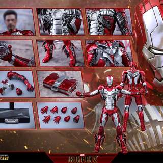 收 iron man mark 5 mark v diecast 版