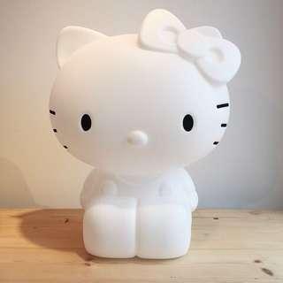 現貨優惠 Hello Kitty lamp  kitty 燈 荷蘭製造 Sanrio 三麗鷗 可調光變換燈色