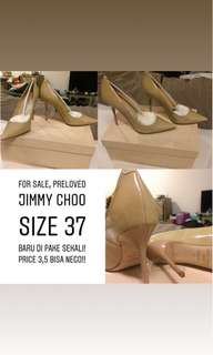 Jimmy Choo Shoes (Authentic)- 1x pakai