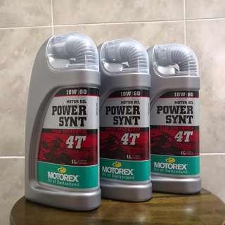 Motorex Power Synt 10W60 RRP:Rm 129