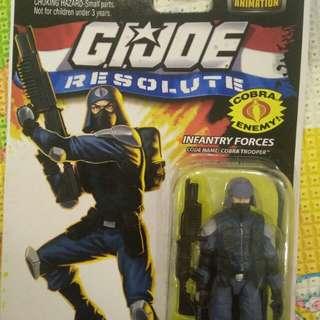 G.I.Joe Resolute Cobra Trooper