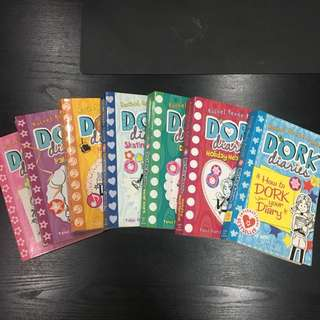 Dork Diaries Set (Book 1-6 + Bonus (How To Dork Your Diary))