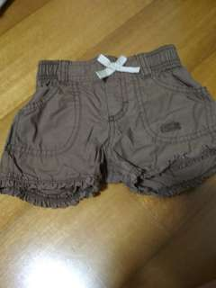 Shorts Brown with bow