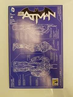 N52 Batman #41 HTF SDCC 2015 Variant