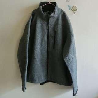 二手KIRKL AND黑色刷毛外套 XL