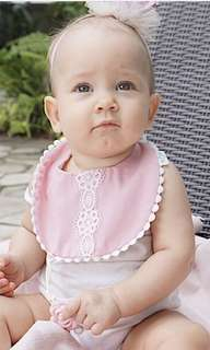 BRAND NEW reversible baby bib with teether
