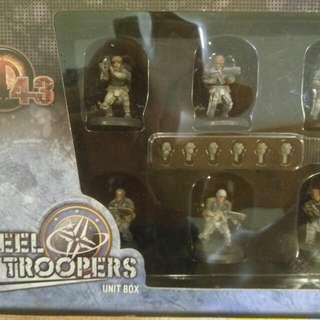 AT-43 Steel Trooper unit box