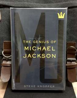 《Bran-New + Hardcover Edition + Michael Jackson Biography》Steve Kbopper - MJ : THE GENIUS OF MICHAEL JACKSON