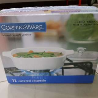 Corningware 1L Covered Casserole