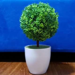 Artificial Potted Green Plant