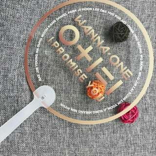 Wanna one I Promise You transparent fan