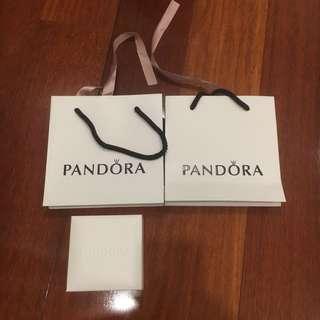 Pandora bag + bracelet box