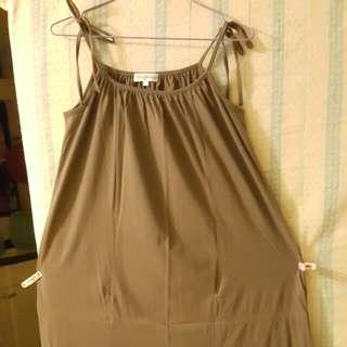 吊帶長身裙
