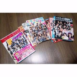 10 x AKB48 Photobooks Excellent Condition