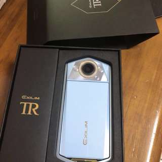 TR80 水藍 9.9999成新 剛購入一個月