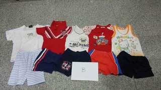 Baby clothes (Set B)