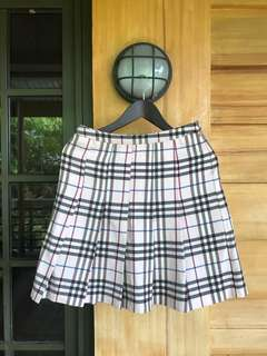 Japanese plaid skirt