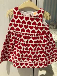 Ashley's 6 months baby gal dress