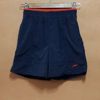 Speedo Board Shorts (Navy Blue & Orange)