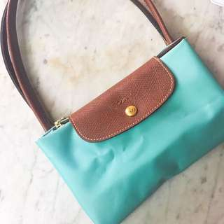 Longchamp Classic Tote Large Teal mint Turquoise