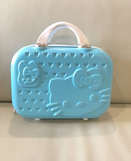 "❗️New Stocks❗️Brand new 14"" Hello Kitty Make Up Bag/Small Luggage. Good Quality! Ideal As 🎁Gifts or for your own use 😀"