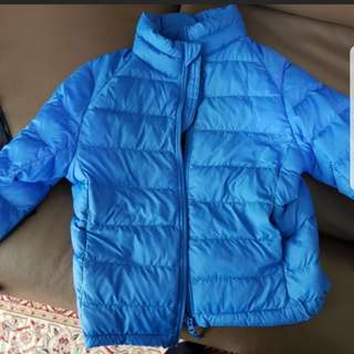 UNIQLO DOWN JACKET SIZE 120