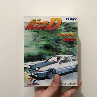 Tomy Tomica Initial D 頭文字D dog fight special Tomica limited 車仔 車 ae86 fd3s