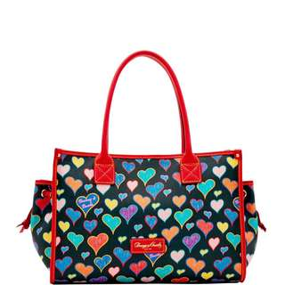 Dooney & Bourke Heart Small Tote