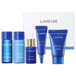 Gratis ongkir Laneige Perfect Renew Trial Kit(5 Items)