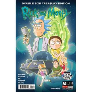 Rick and Morty Double Size Treasury Edition #1