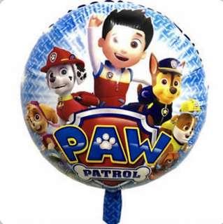 Paw Patrol Round Balloon