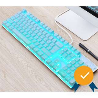 #Easter20 Semi-Mechanical Icy Cool Gaming Keyboard SE23