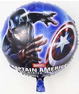 Captain American Round Balloon